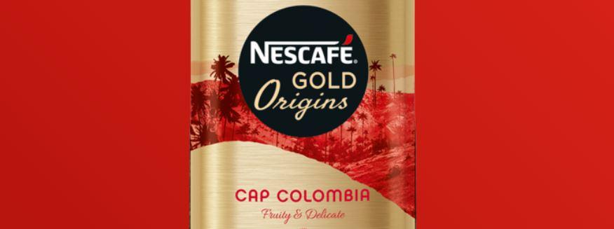 1 – نسكافيه جولد أورجنز كولومبيا NESCAFÉ Gold Origins Colombia