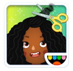 14 - Toca Hair Salon 3 تطبيقات تعليمية للأطفال