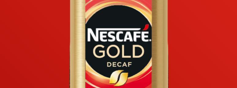 16 – نسكافيه جولد بدون كافيين (ديكاف) NESCAFÉ Gold Decaf