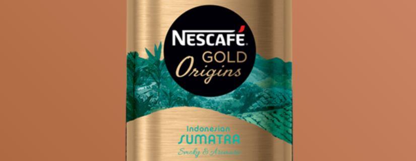 2 – نسكافيه جولد أورجنز إندونيسيا سومطرة NESCAFÉ GOLD Origins Sumatra أنواع نسكافيه جولد