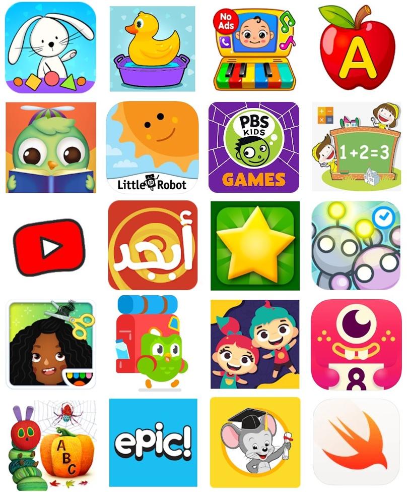 20 من أفضل تطبيقات تعليمية للأطفال ... مفيدة ممتعة آمنة