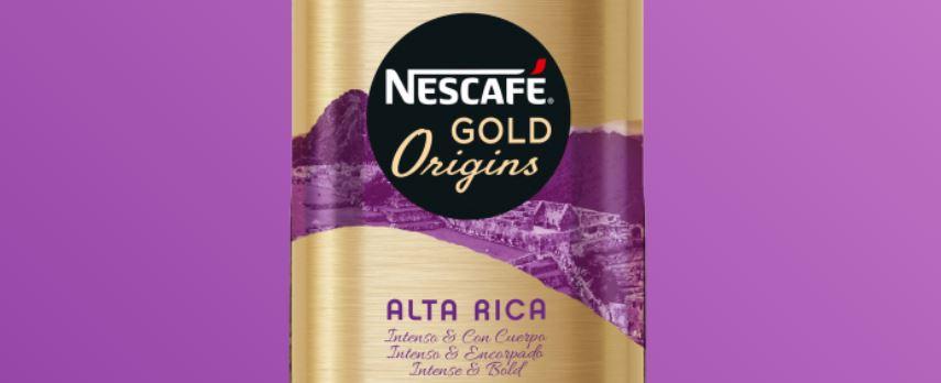 4 – نسكافيه جولد أورجنز ألتا ريكا NESCAFÉ Gold Origins Alta Rica أنواع نسكافيه جولد