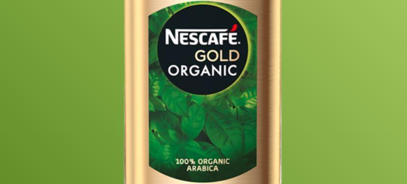 5 – نسكافيه جولد أورجانيك (العضوي) NESCAFÉ GOLD Organic أنواع نسكافيه جولد