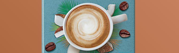 6 – نسكافيه جولد لاتيه بجوز الهند NESCAFÉ Gold Coconut Latte أنواع نسكافيه جولد