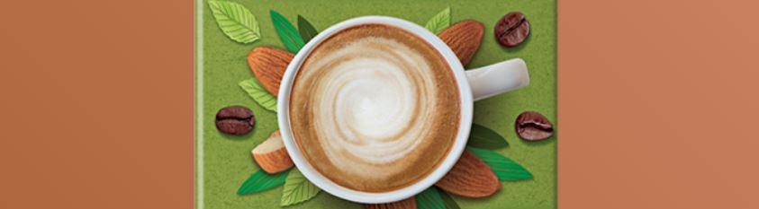 7 – نسكافيه جولد لاتيه باللوز NESCAFÉ Gold Almond Latte أنواع نسكافيه جولد