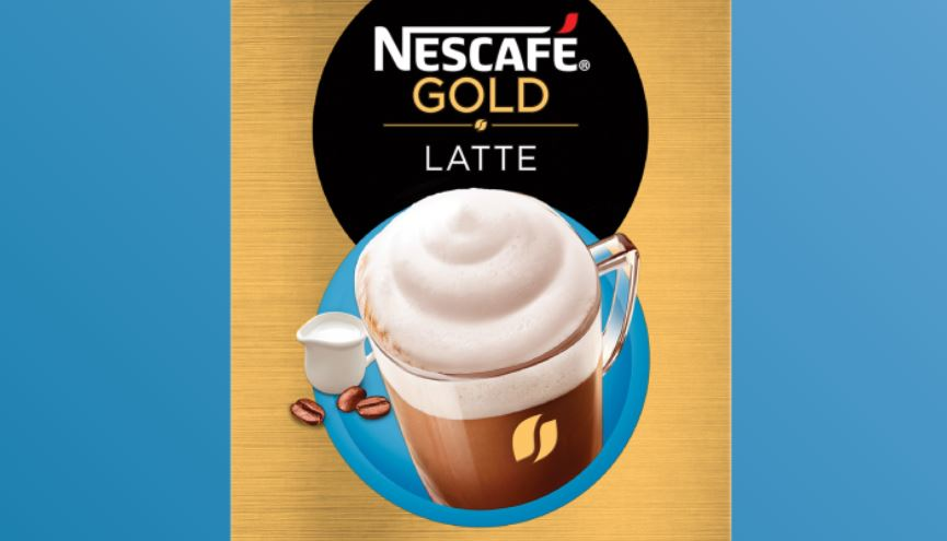9 – نسكافيه جولد لاتيه NESCAFÉ Gold Latte أنواع نسكافيه جولد