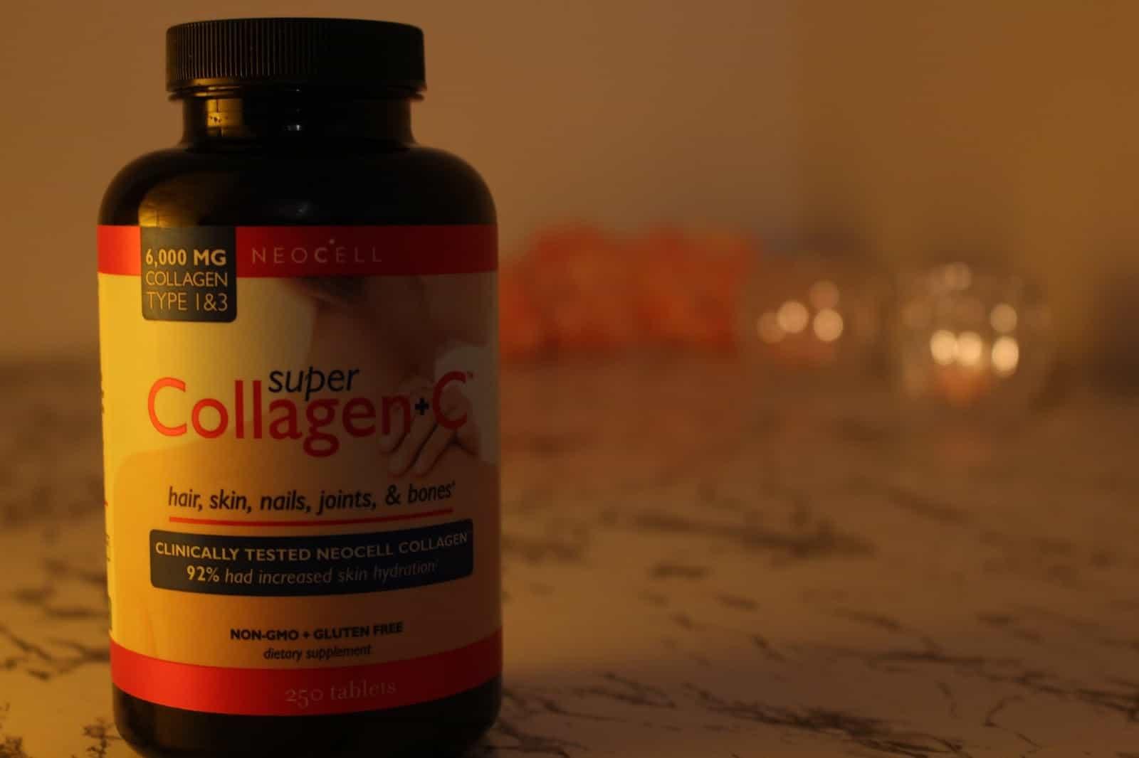 حبوب الكولاجين