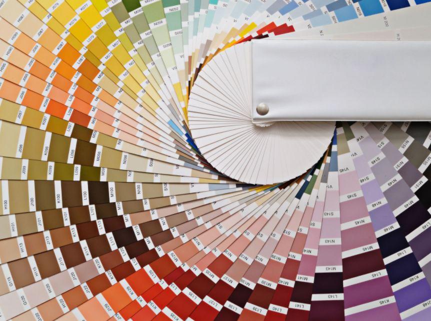 دائرة الألوان للملابس ..
