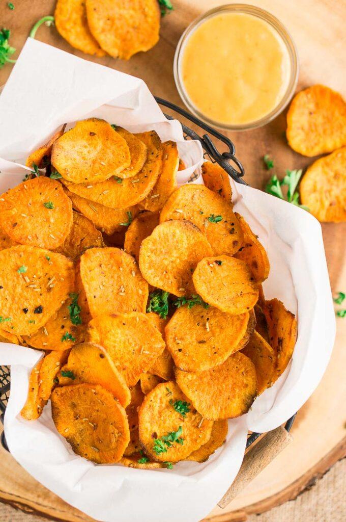 رقائق-البطاطا-الحلوة