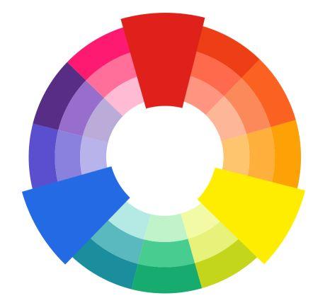 2 – الألوان الأساسية