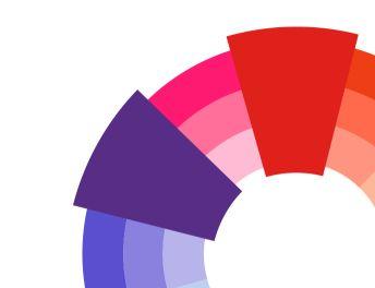 4 – الألوان المتناظرة