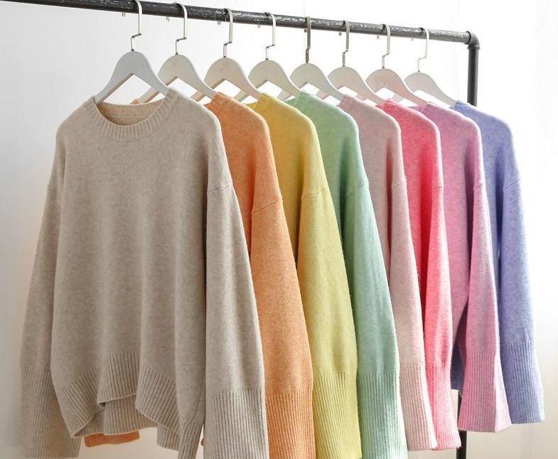 5 – ألوان الباستيل في ملابس الشتاء والخريف