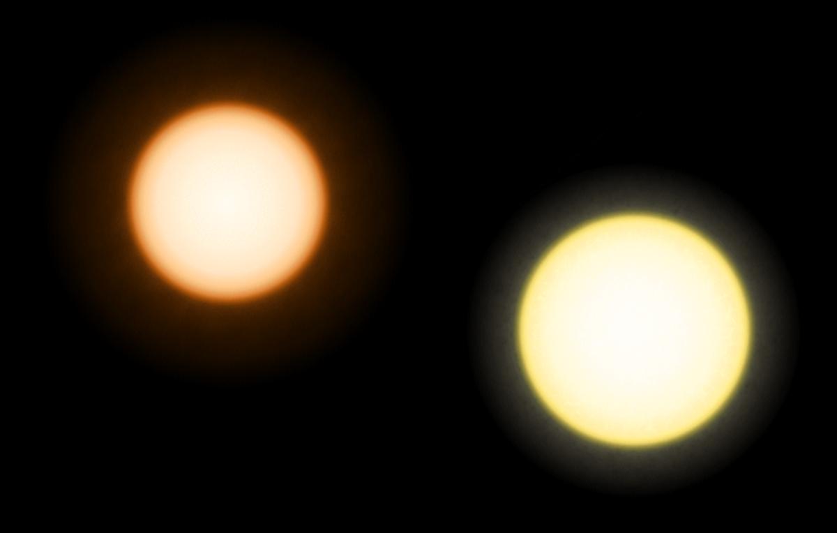 أنواع النجوم