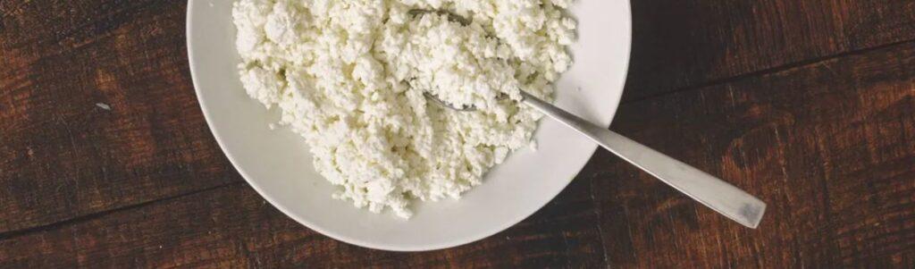 3 – الجبن القريش مع الحليب Cottage Cheese and Milk