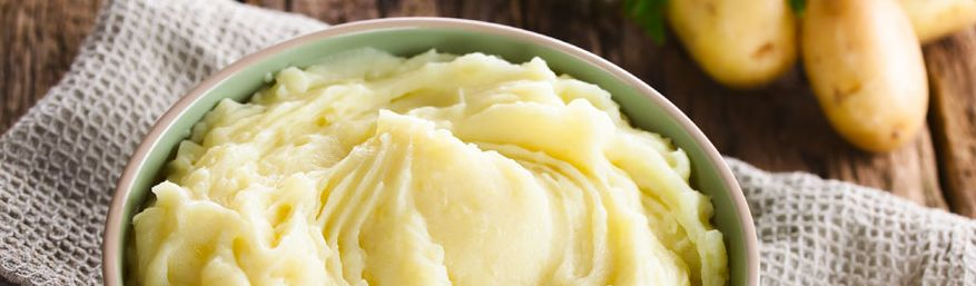 8 – البطاطا المهروسة pureed potatoes بدائل كريمة الطبخ