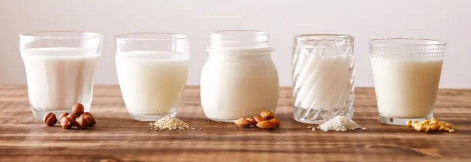 الكربوهيدرات في أنواع الحليب المختلفة