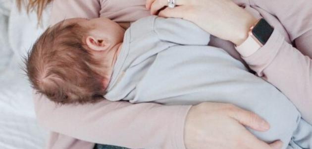 كيفية الرضاعة مع الحمل