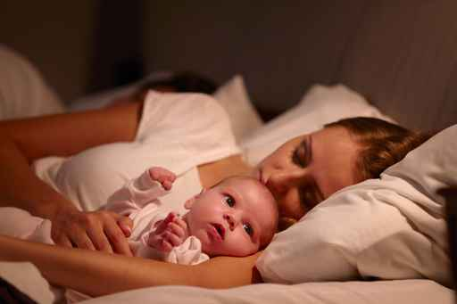 اسباب قلة نوم الرضيع 1
