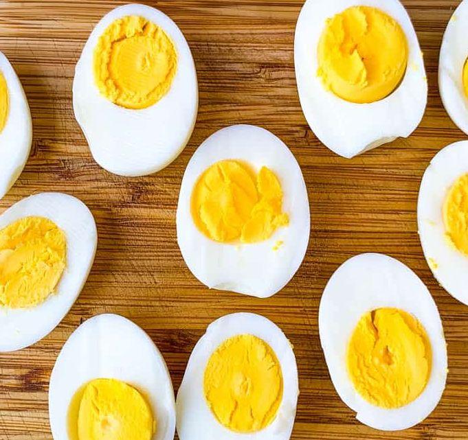 البيض المسلوق للرجيم ..
