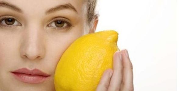 عصير الليمون لحب الشباب