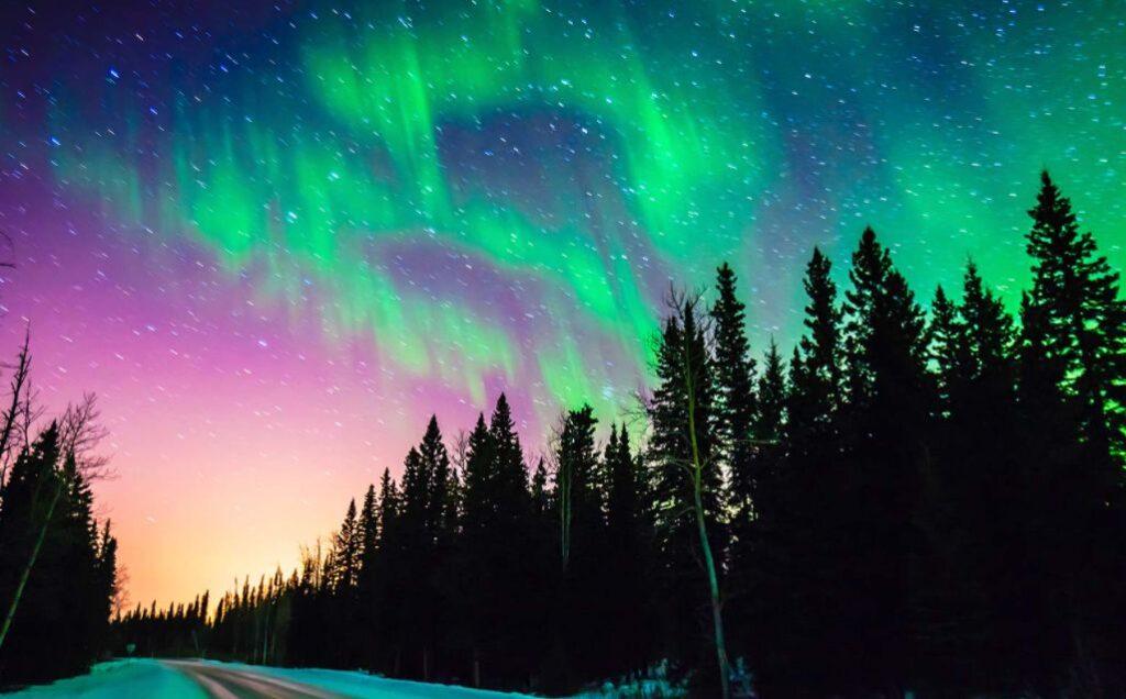 أفضل مكان لرؤية ظاهرة الشفق القطبي