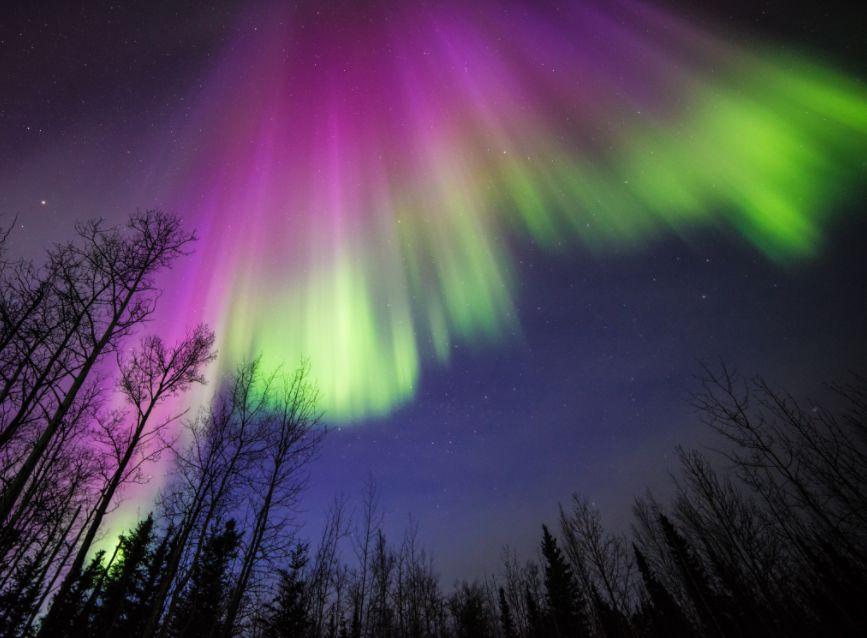 الشفق القطبي Aurora Borealis ..