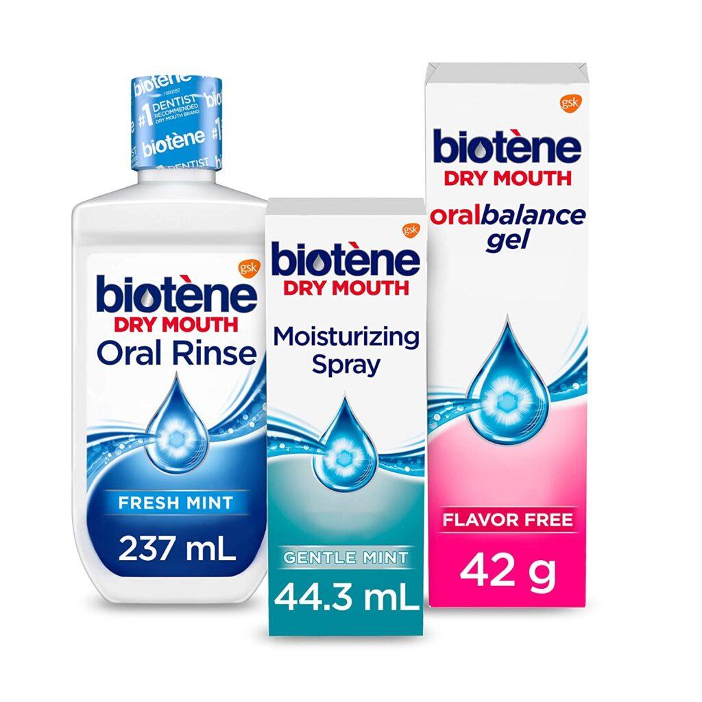 بيوتين لجفاف الفم