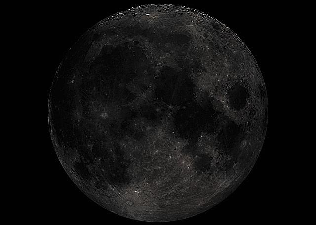 قمر أسود