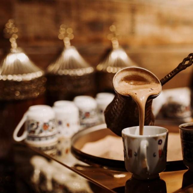 مكونات القهوة العربية ..