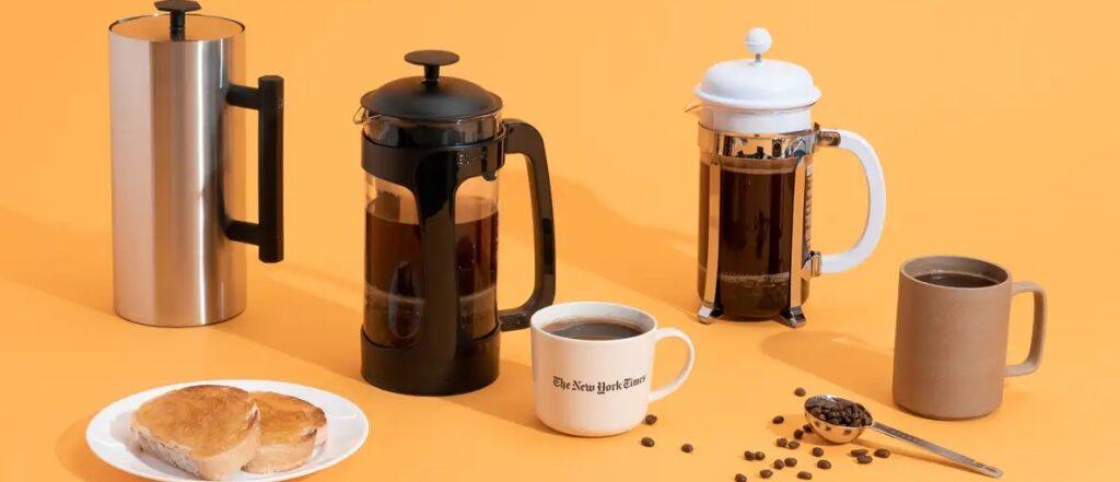 أنواع مكبس القهوة الفرنسي French press