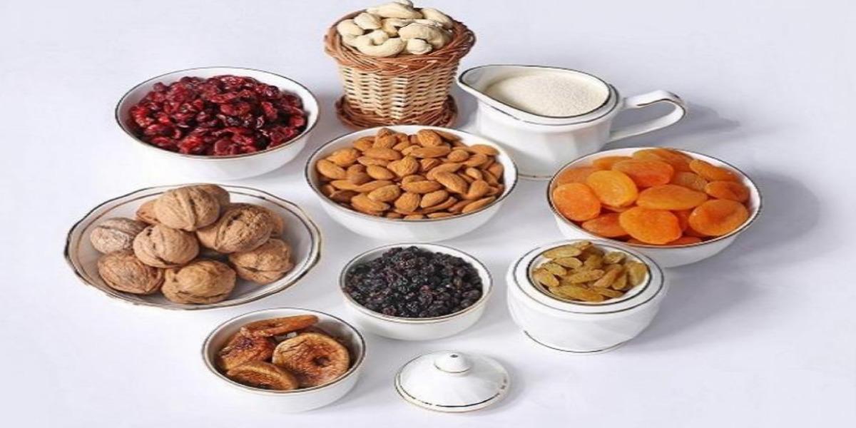 أنواع الفاكهة المجففة