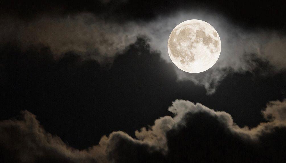 ضوء القمر