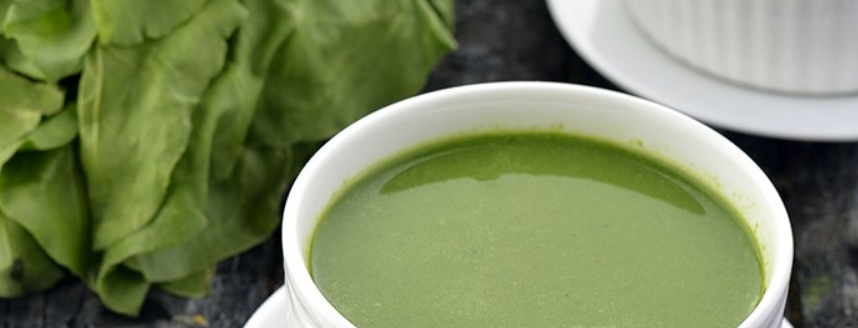 4 – شوربة الشوفان بالسبانخ Spinach Oat Soup