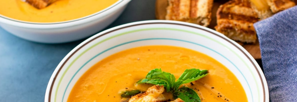 5 – شوربة الشوفان مع اليقطين Pumpkin Oats Soup