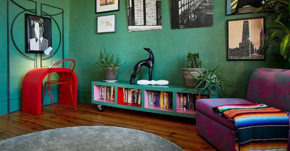 الدرجات الداكنة من الأخضر