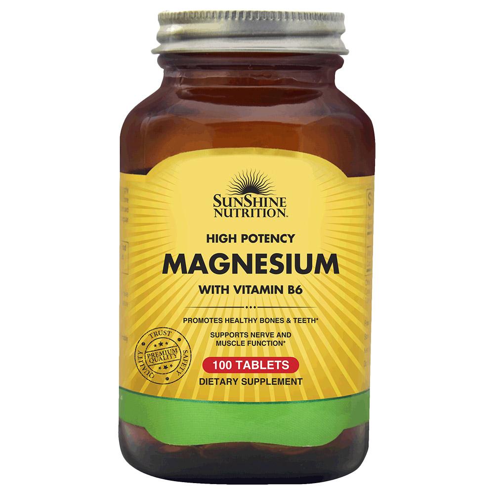 مغنيسيوم مع فيتامين ب6