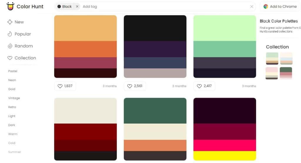 2 – Color hunt