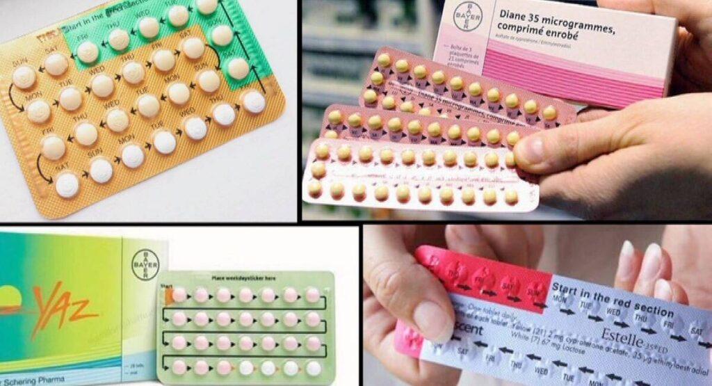 أنواع حب منع الحمل