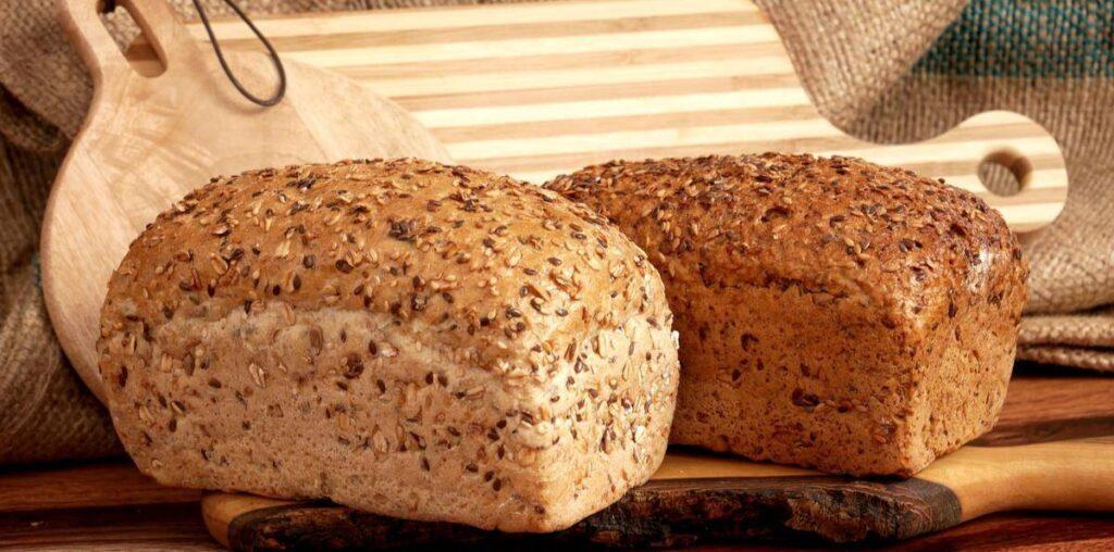 كيك خبز بذور الكتان