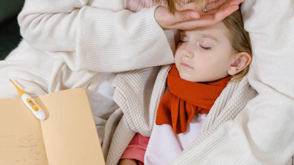 أسباب ألم المعدة عند الأطفال.