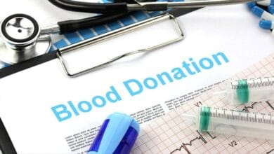 الأشخاص الذين لا يمكنهم التبرع بالدم