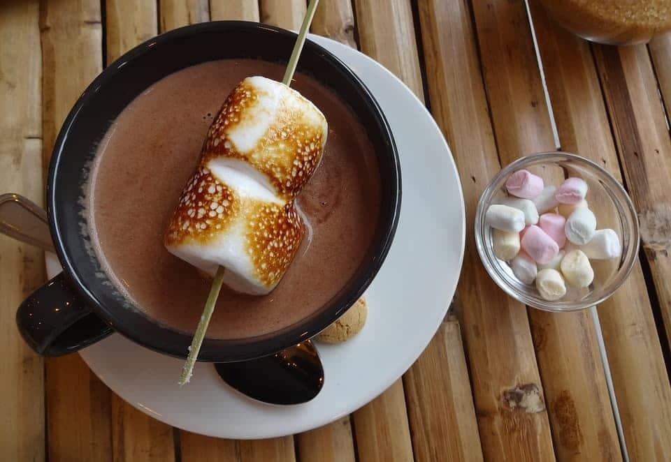 حلوى المارشميللو بالشوكولا