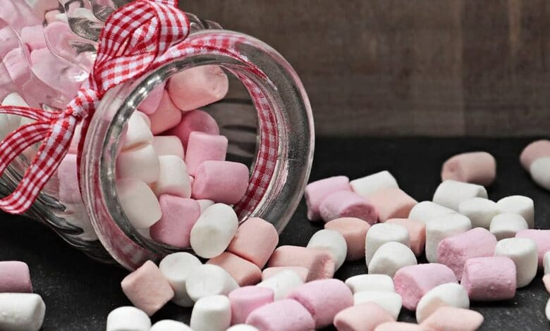 حلوى المرشميللو