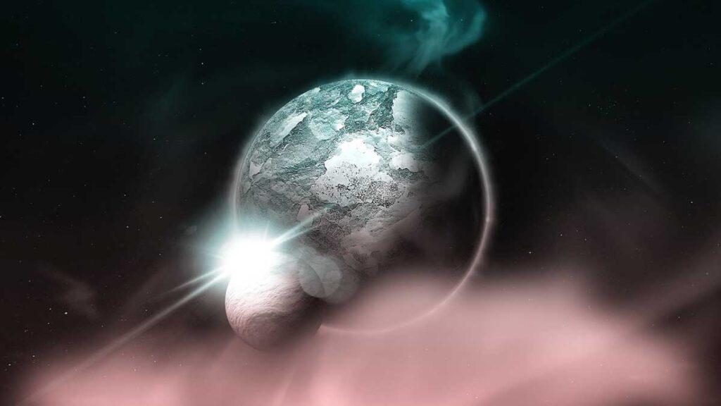 هل يمكن أن يسقط القمر على الأرض؟