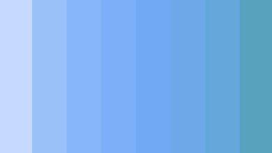 ألوان تليق مع البيبي بلو ... أفضل 20 لون مع الأزرق الباستيل