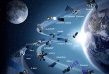 أنواع متعددة من الأقمار الصناعية
