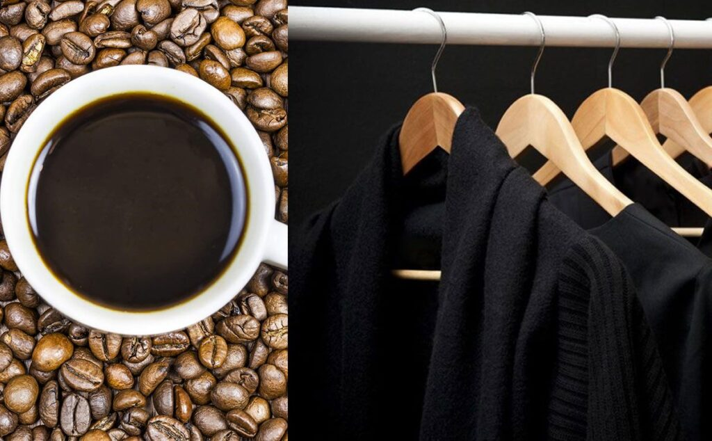 القهوة لإزالة البقع