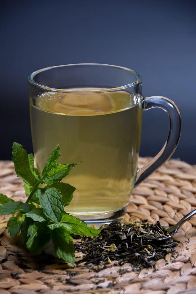 شاي نعناع مجفف