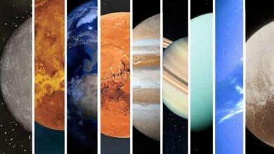 ما هي ألوان الكواكب؟