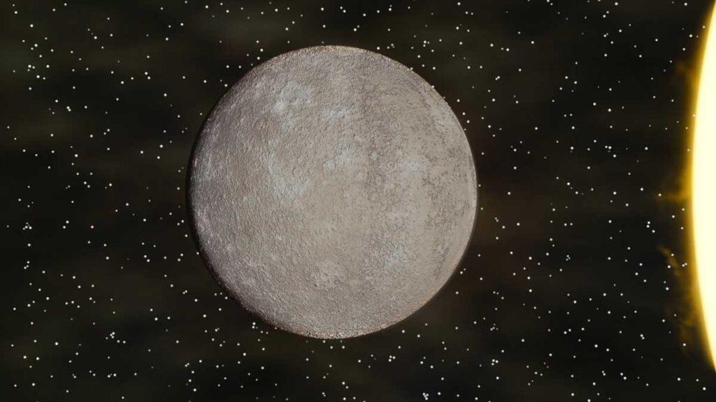 1 – كوكب عطارد Mercury